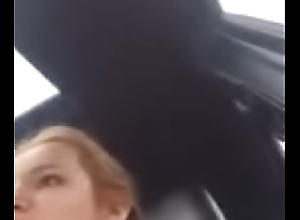 Bella Thorne Moaning in Car