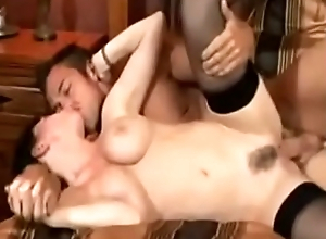 Guy with step-mom have a nice fuck