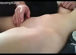 Fingering unused pussy on Cam