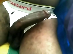 White Mature man worships a BBC and admires Huge Black Penis of a young Black boy