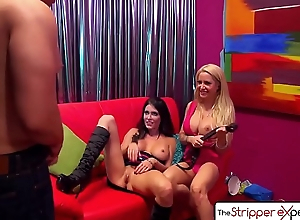 The Stripper Experience - Jessica Jaymes &amp_ Helly Hellfire fucking a big dick, big special and big spoils