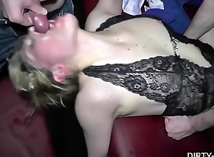 Slutwife Nicole is the true cum dump