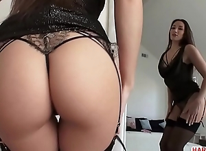 Lingerie clad Clea Gaultier needs some anal