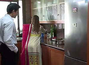 Lonely beautiful wife falls prey down husband'_s pervy boss Niks Indian