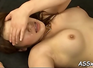 Hot japanese babes are serving their soaked anal tunnels