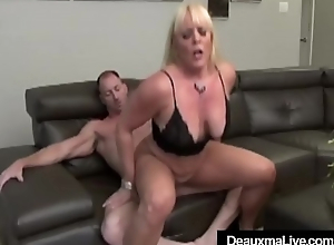 Mature Lesbians Deauxma &amp_ Alexis Flaxen Fuck In BBC 4some!