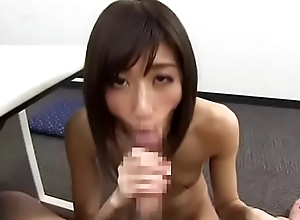 Cute Thin Asian Give Good Nut