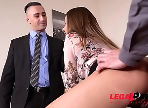 Big Booty Real estate agent Taylor Sands gets DP&#039_ed Steadfast for the Sale GP074