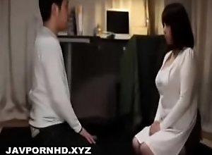 Son gets sex education from horny Japanese mom