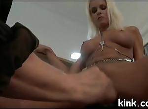 Gal punished by husband increased by hooker yon anal increased by bondage.