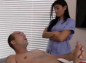 Horny Guys Cock Becomes Immutable &_ Thick During Massage
