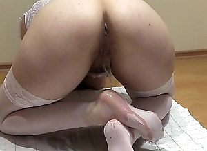 The best pissing and foot fetish, the compilation of a golden shower from a hairy pussy with regard to different poses.