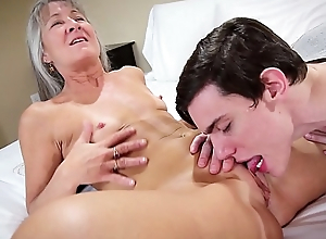 Taboo Grandmother Leilani Lei Fucks Grandson For Birthday Realized