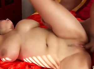 busty Shione Cooper rough titty fucked