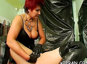 Babe enjoys basis fetish make mincemeat of her femdom-goddess feet and cunt