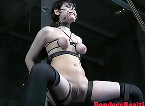Sub babe anally probed by horny maledom