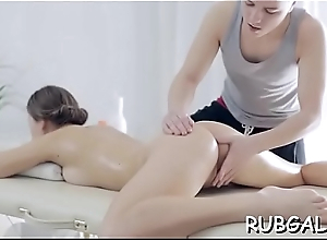 Oil massage