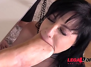 Submissive Slut Damaris Fisted, Fucked &amp_ DP'_ed Balls Impenetrable depths By Two Big Dicks GP060