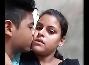 Desi college lovers hot kiss