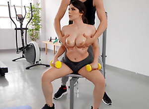 Big Boob Aerobics with Valentina Nappi and Alberto Blanco - Reality Kings HD