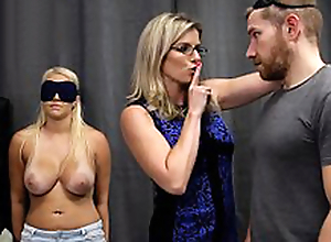 Cory Chase & Vanessa Cage - Hot Daughter Tricked into a Threesome thither Mom & Dad