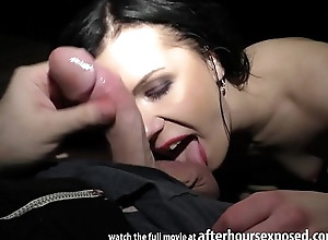 luiza saint giving a private pov strip tease and blowjob with cum swallowing ending