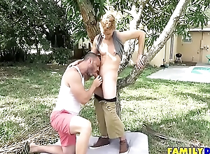Outdoor Gay Family Blowjobs