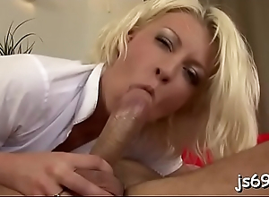 Enchanting juvenile babe cums hard during a fuck session with a stud