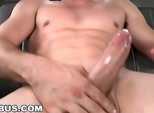 BAIT BUS - Redhead Steven Ponce Wants Tyler&#039_s Straight Dick In His Ass
